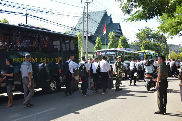 114 Pemuda Sub Panda Bone Bersaing Jadi TNI AD