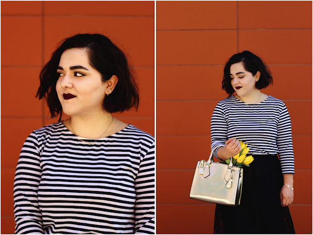 Breton Stripes and Lace