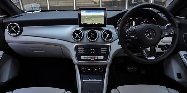 2018 Mercedes-Benz CLA200 Sedan Interior
