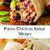ASIAN PALEO CHICKEN SALAD WRAP (Gluten Free - Low Carb)