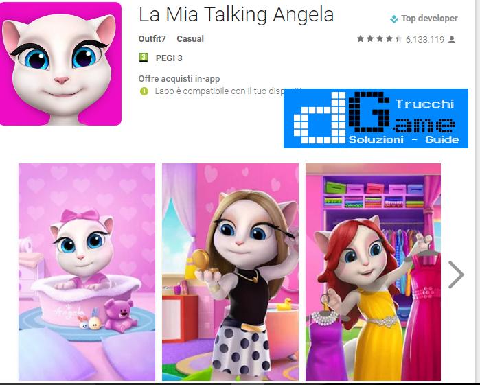 Trucchi  La Mia Talking Angela Mod Apk Android v4.1