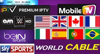 أكثر من 20 سيرفر IPTV بصيغة m3u بتاريخ 23/12/2018