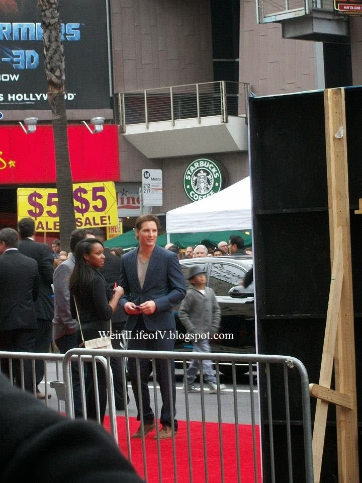 Peter Facinelli at the Iron Man 3 premiere