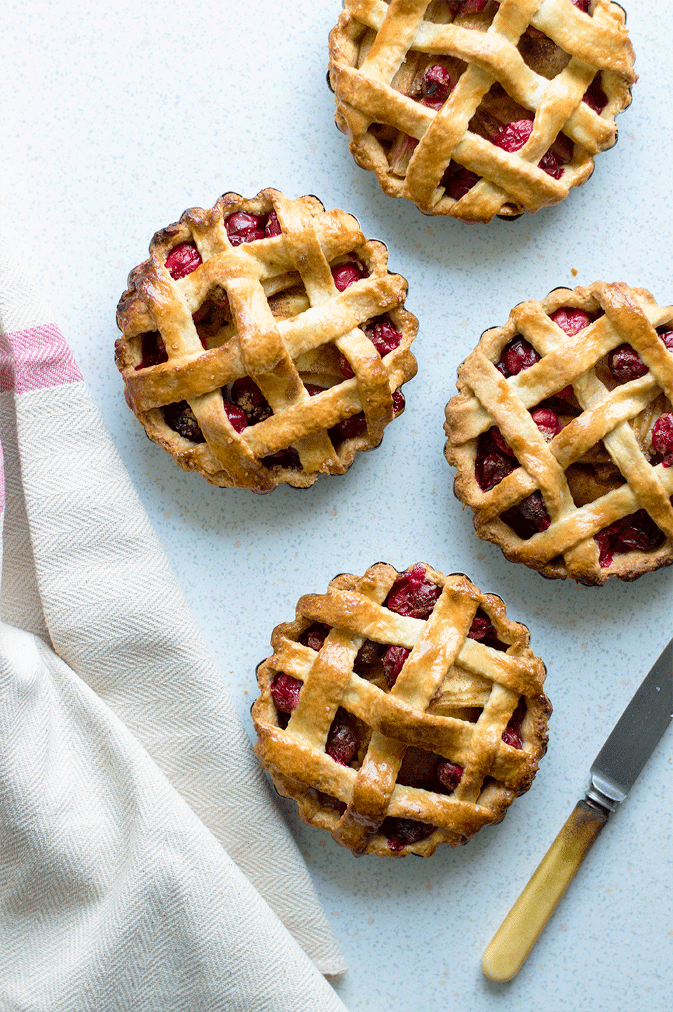 Cranberry Apple Pies | https://oandrajos.blogspot.com
