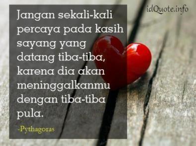 kata cinta dan kasih sayang
