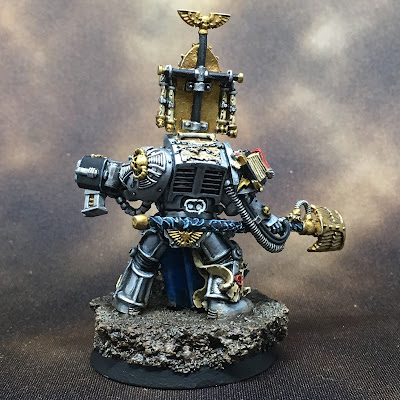 Grey Knights Librarian Back