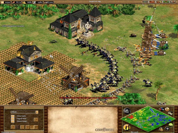In Age of Empires II: HD Edition, fans of the original game and new players alike will fall in love with the classic Age of Empires II experience.
