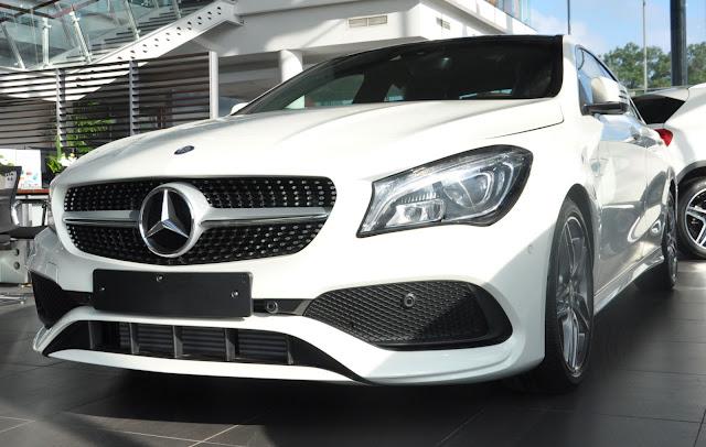 Mercedes CLA 250 2018 vẫn hành mạnh mẽ