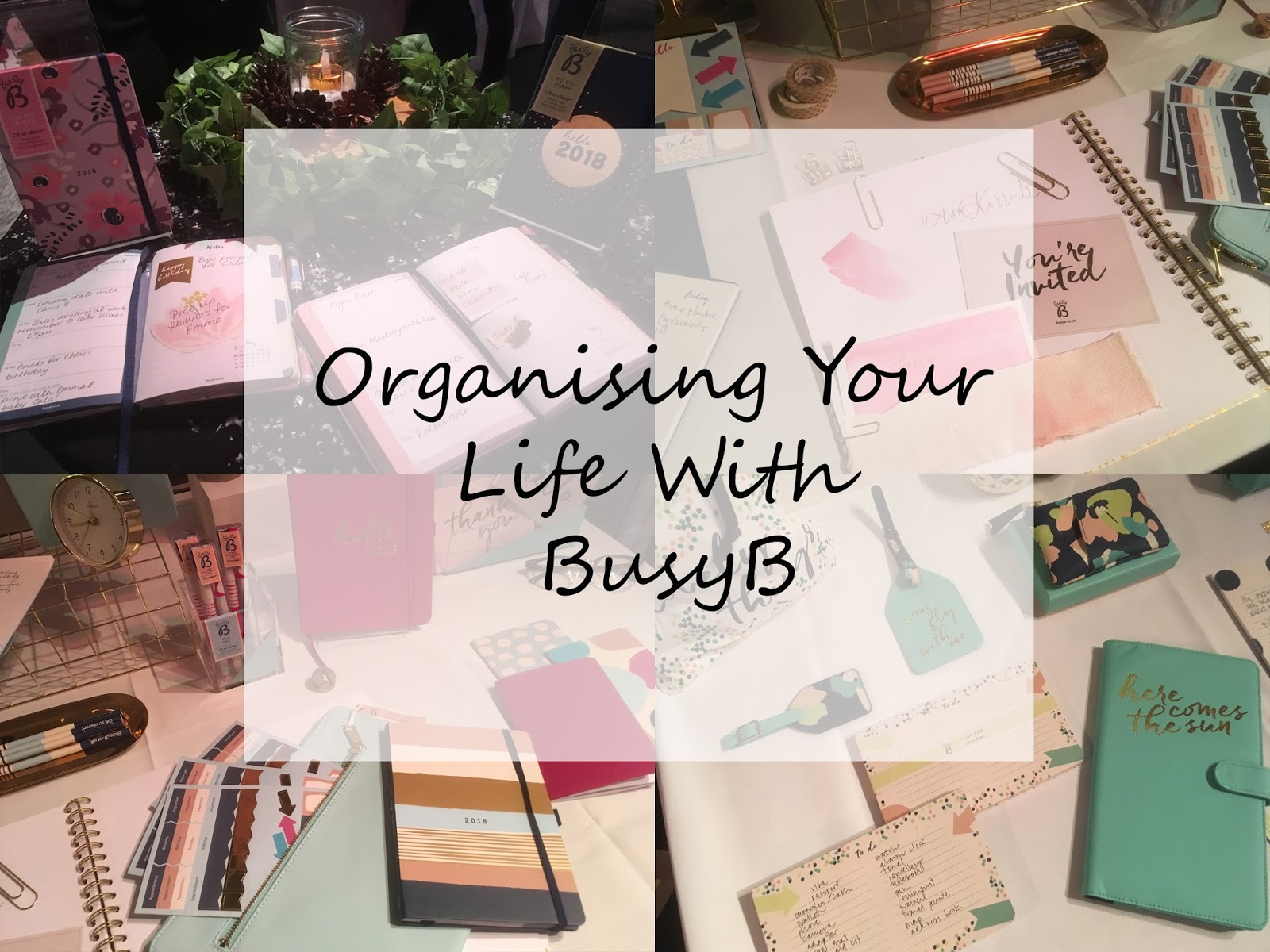 Organising Your Life With BusyB