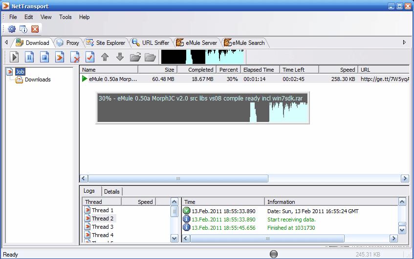 Leecher Mods - Net Transport 2 96b Build 615