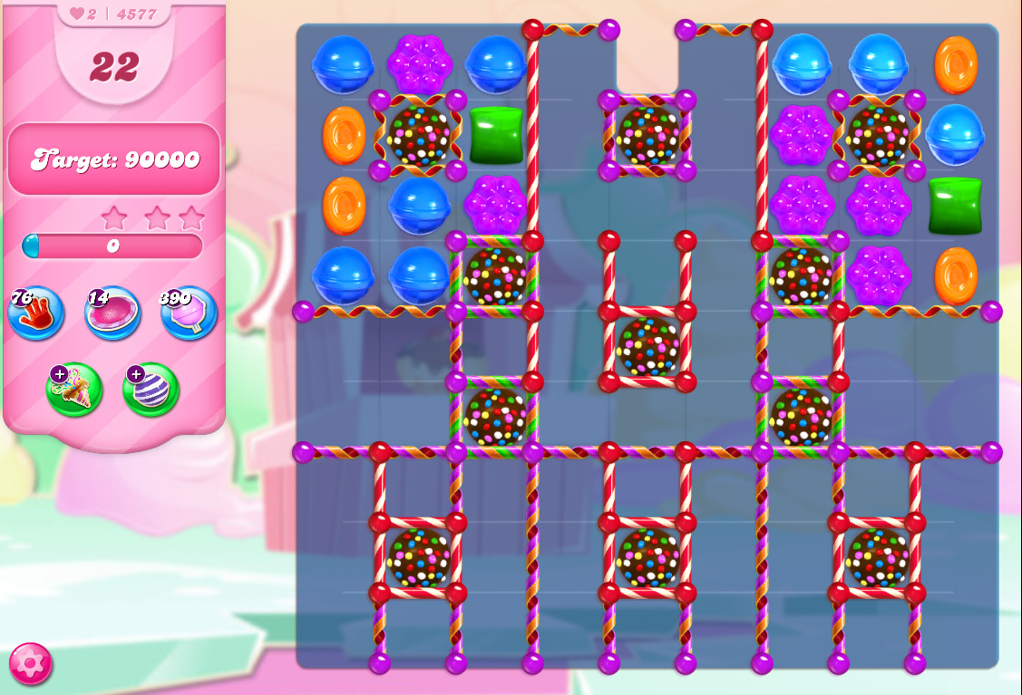 Candy Crush Saga level 4577