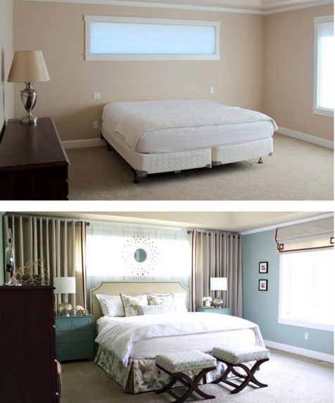 Tall Windows And Short Windows What Type Window Treatment