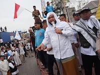 Masa Umat Islam Datangi Kapolres Belawan Tuntut Keadilan