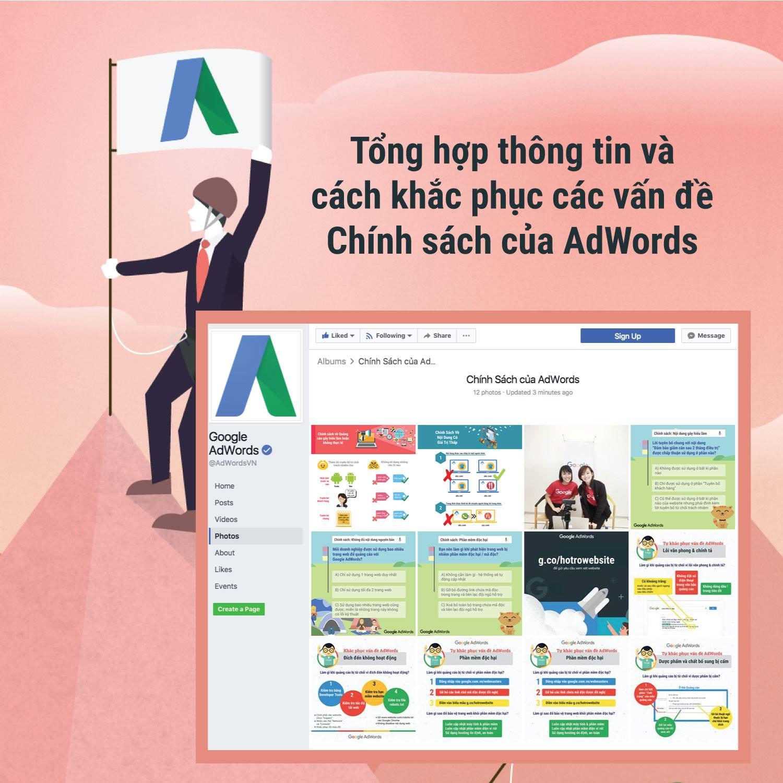 Chính Sách của AdWords qua hình ảnh