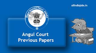 Angul Court Jr Clerk Copyist Previous Papers