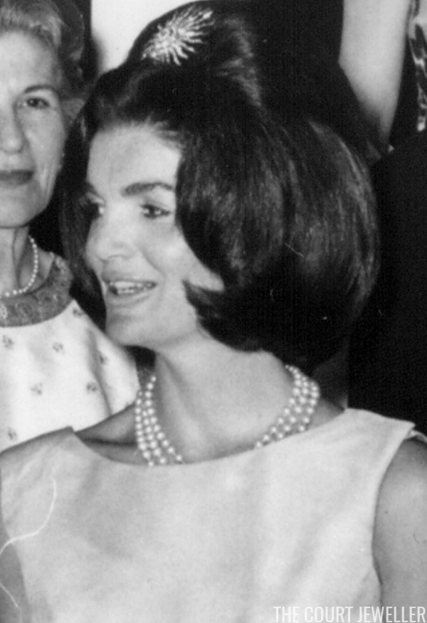 Kennedy Wears The Brooch In Her Hair During Luxembourgish State Visit 30 April 1963 National Archive Newsmakers
