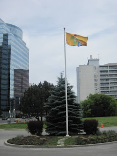 Pan Am Games Flag.