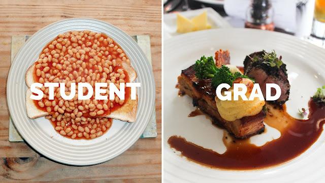 student life vs grad life