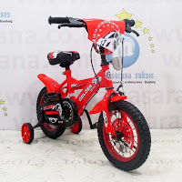 Sepeda Anak Golden Force BMX 12 Inci Red