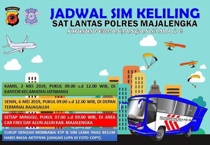 SIM Keliling Majalengka Mei 2019-IGsatlantas_mjlk