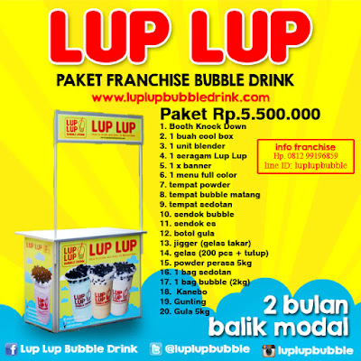 USAHA BUBBLE DRINK TERLARIS 2017