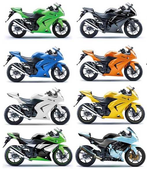 Pertimbangan Memilih Warna Cat Motor yang menarik (www.motroad.com)