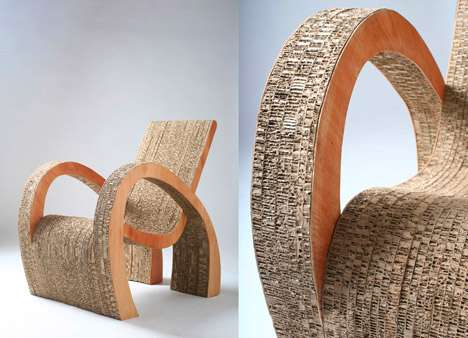 How to Recycle Recycled Cardboard Furniture