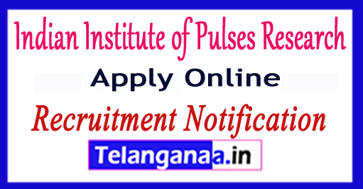 Indian Institute of Pulses Research IIPR Recruitment Notification 2017