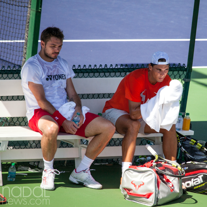 Stanislas Wawrinka and Rafael Nadal • Tennis Players
