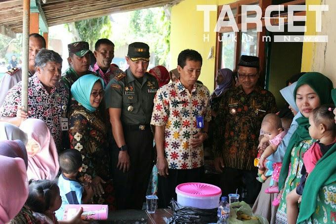 Dandim 0718 Pati Menghadiri Pencanangan Kampung KB di Desa Tanjungsekar Puncakwangi Pati