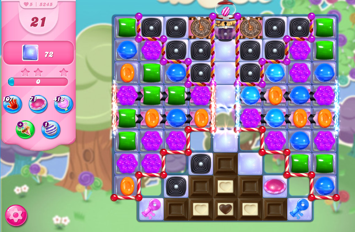 Candy Crush Saga level 5245