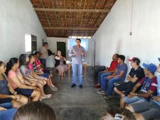 Comunidade Lagedo Grande na zona rural de Picuí receberá curso de informática