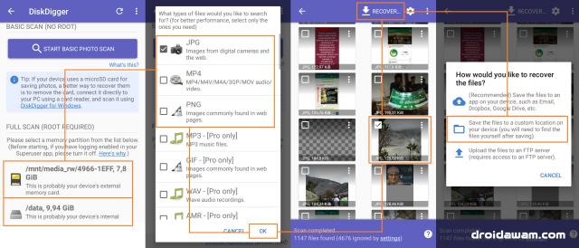 Cara Mengembalikan Foto yang Terhapus Permanen di Android