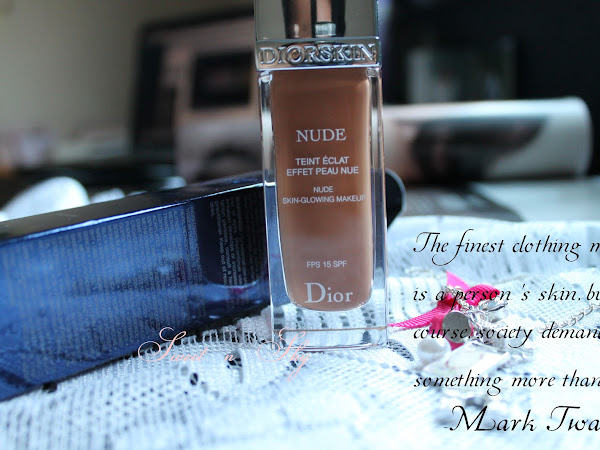 ♥ Diorskin Nude Skin-Glowing Makeup in shade 50-Beige Fonce