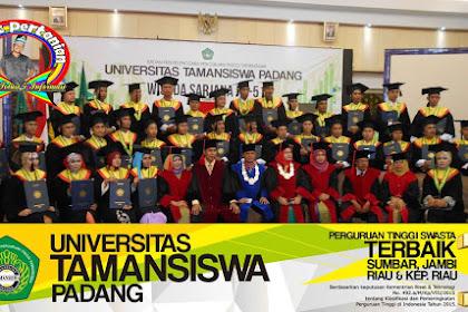 Pendaftaran Mahasiswa Baru (UNITAS-Padang) 2021-2022