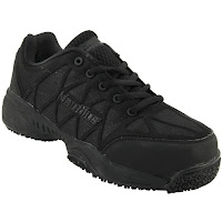 Nautilus Slip Resistant Blk Women's AthComposite Toe Work Shoes