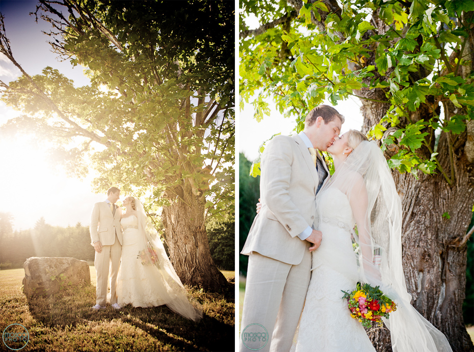 Oregon Wine Country The Youngberg Hill Vineyard Wedding