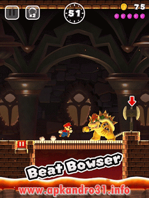 Super Mario Run v2.0.0 APK Terbaru