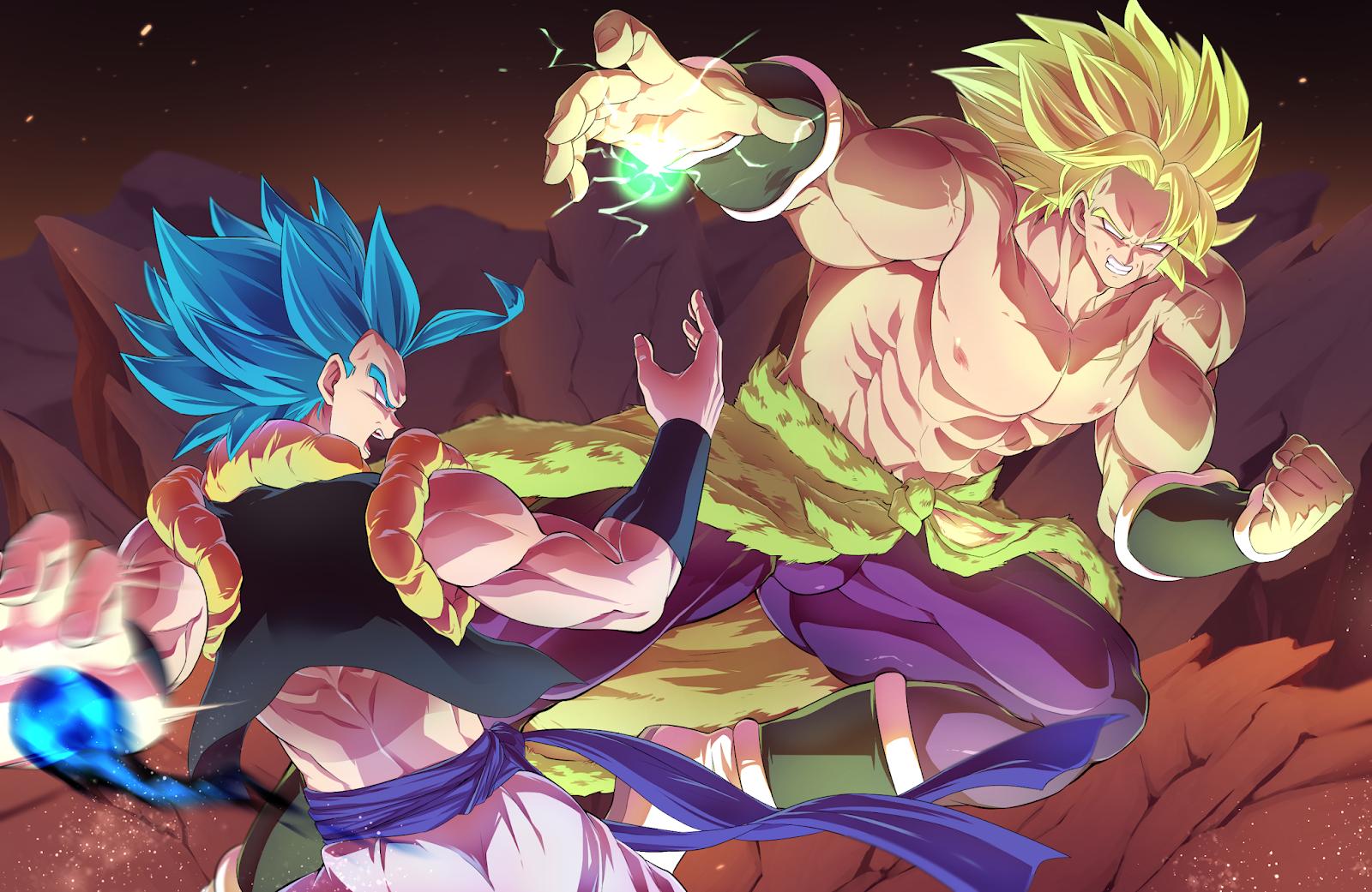 Dragon Ball Super Broly Gogeta Vs Broly