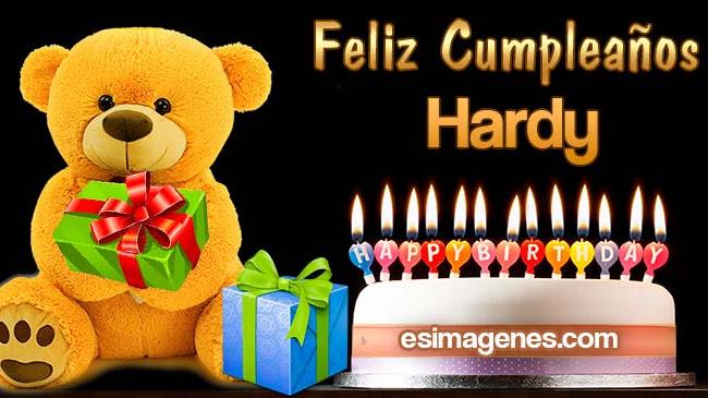 Feliz cumpleaños Hardy