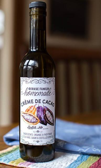 Crème de Cacao-Rượu mùi chocolate