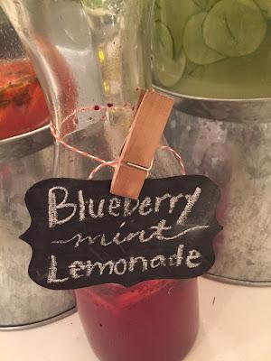 Blueberry mint lemonade recipe