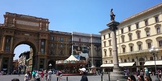 Florencia, Piazza della Repubblica.