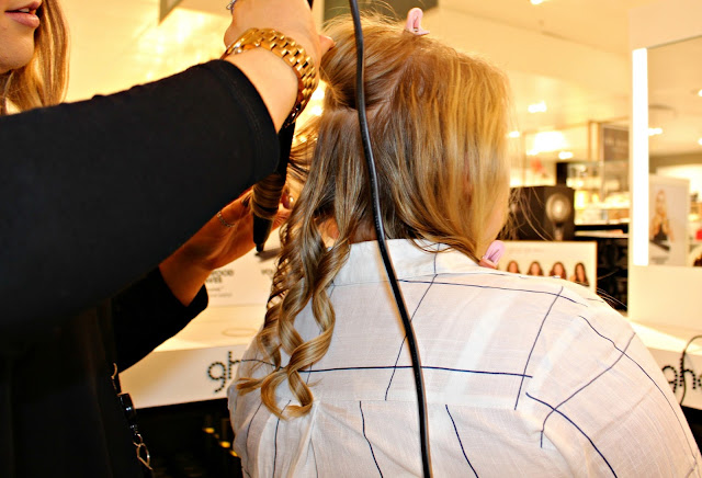 Hair curling GHD Liverpool