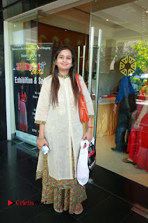 Bollywood Actress Sana Khan Launches Aakrithi Exibition  0207.JPG