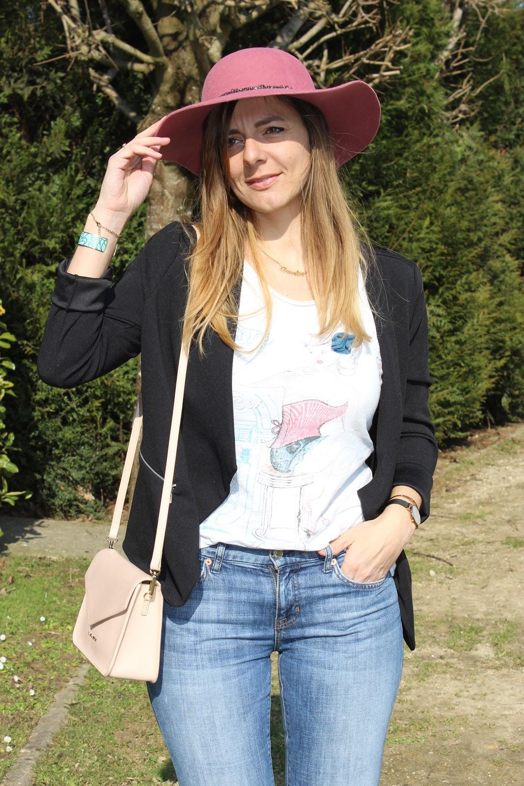 allure parisienne, look du jour, babou, défis looks, les petites bulles de ma vie