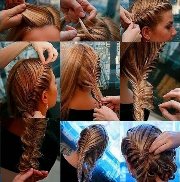 ... mengepang rambut anda. Model Sanggul Modern untuk Remaja 021c83bde4