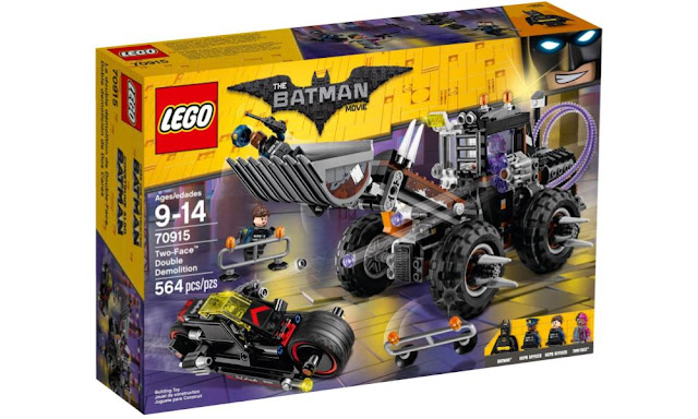 Amazon Deal: 38% Off - (70915) The Lego Batman Movie - Two-Face Double Demolition