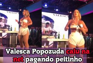 Valesca Popozuda pagando peitinho em Show