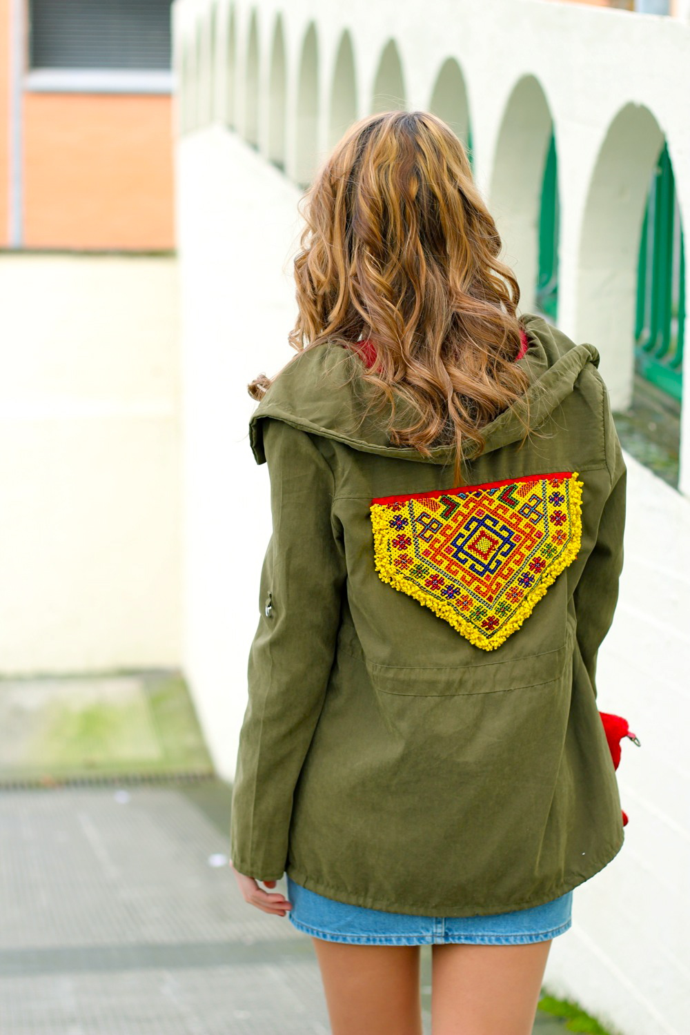 customizar chaqueta militar